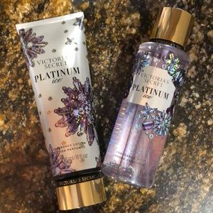 New Victoria's Secret Platinum Ice